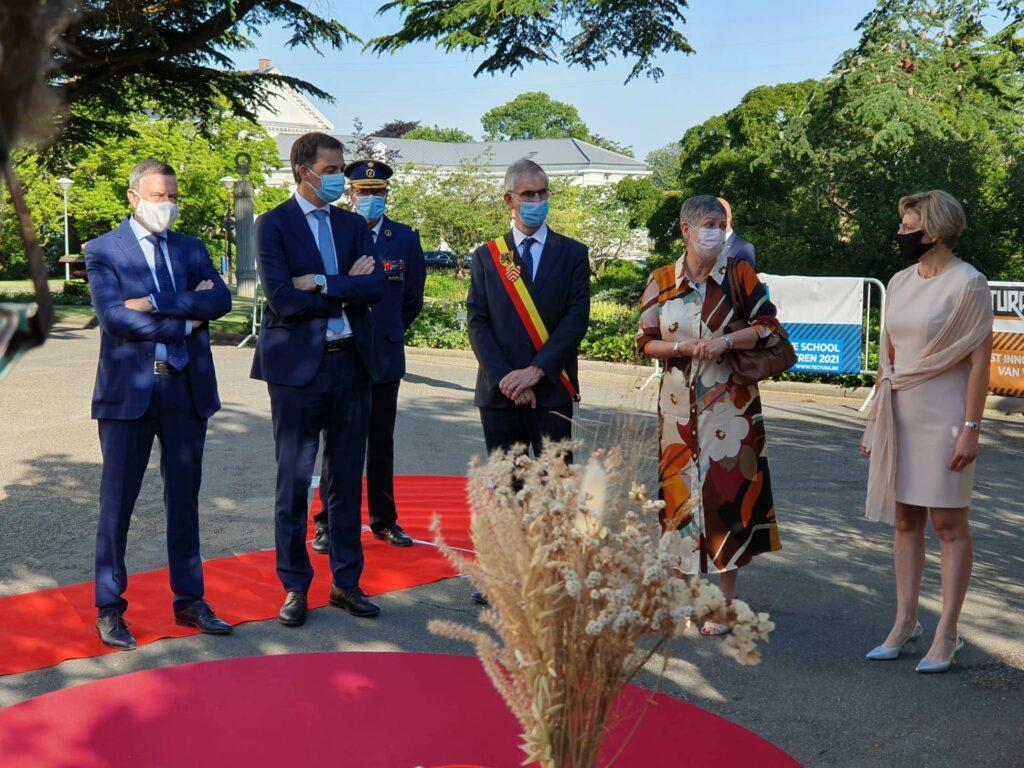 Premier De Croo bezoekt Tectura!